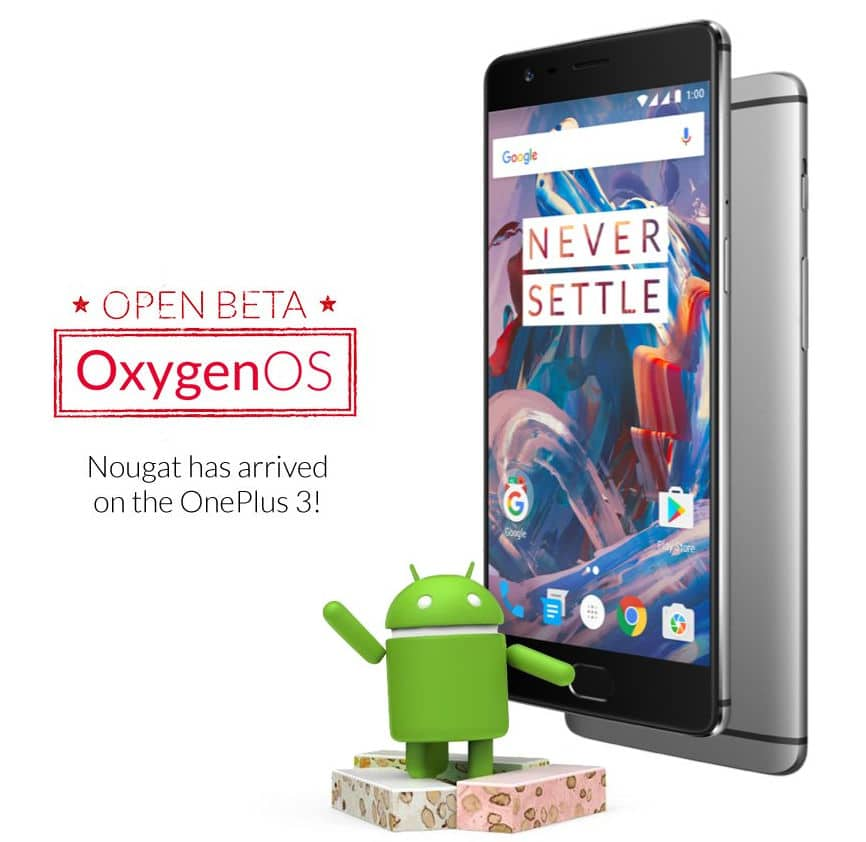 oneplus-3-oxygenos-android-7-0-nougat
