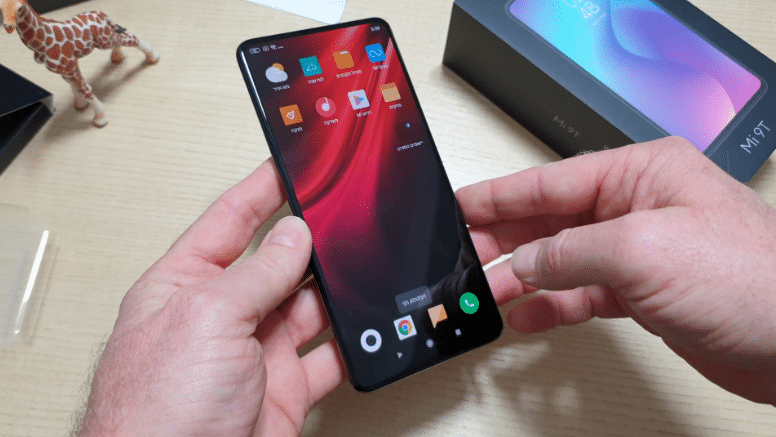 ג'ירפה בודקת: התרשמות ראשונית – Xiaomi Mi 9T