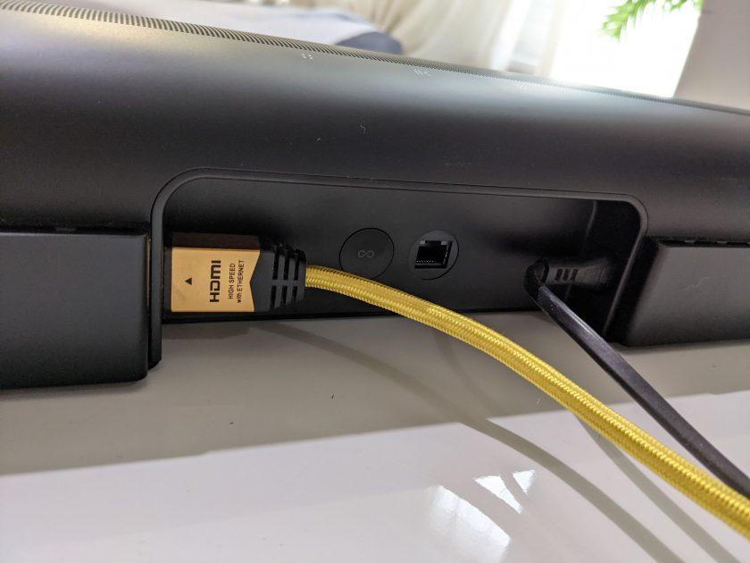 מתח, HDMI ורשת, אלו כל החיבורים שתקבלו בארק