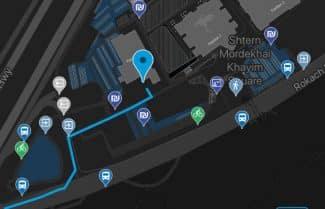 אקספו תל-אביב משיקה אפליקציה חדשה לניווט בתוך מבנים