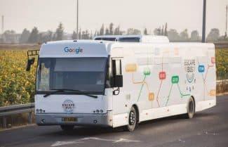 ג'ירפה בודקת: אוטובוס הבריחה של גוגל