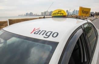 גט, מאחוריך: שירות הזמנת המוניות המקוון Yango מגיע לישראל
