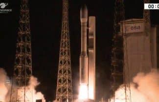 שני לווייני תצפית מתוצרת התעשייה האווירית שוגרו הבוקר בשעה 04:58 לחלל