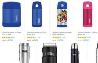 """מוצר היום באמזון ארה""""ב: מגוון רחב של כוסות תרמיות מבית חברת Thermos"""