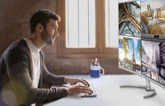 פיליפס מכריזה על מסך מחשב 40 אינץ' קעור ברזולוציית 4K