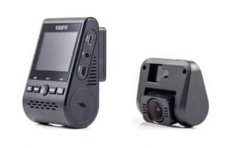 מצלמת רכב כפולה Viofo A129 במחיר מעולה כולל קופון בלעדי וביטוח מס!
