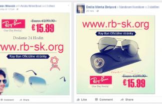 זהירות: הונאת משקפי רייבן בפייסבוק ובאינסטגרם ממשיכה להתפשט