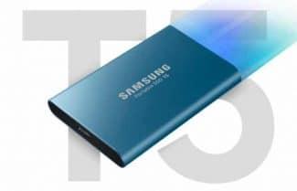 """אמזון ארה""""ב: כונן SSD נייד Samsung T5 בנפח 500GB – במחיר מבצע"""