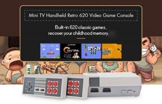 קונסולה המשלבת 620 משחקי רטרו קלאסיים – עכשיו עם קופון הנחה