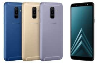 הוכרזו: +Galaxy A6 ו-Galaxy A6 – פלאש LED במצלמה הקדמית ומסך מוארך