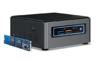 אינטל השיקה מחשבי NUC חדשים עם מעבדי 10 ננומטר וכרטיס AMD