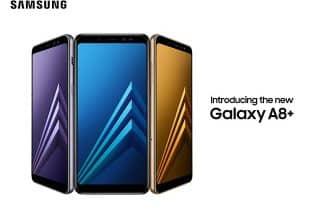 סמארטפון סמסונג Galaxy A8 Plus 2018 עם אחריות יבואן – במחיר נמוך במיוחד!