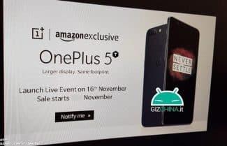 דיווח: OnePlus 5T יוכרז ב-16 בנובמבר