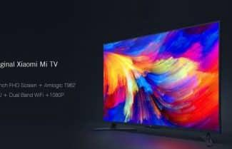 טלוויזיה חכמה 43 אינץ' Mi TV 4A מבית שיאומי עם קופון הנחה