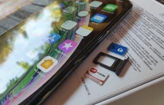 ג'ירפה בודקת: iPhone XS עם תמיכה בשני כרטיסי סים