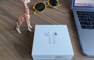 ג'ירפה בודקת: אוזניות Apple AirPods החדשות – התרשמות ראשונית