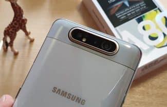 ג'ירפה בודקת: התרשמות ראשונית – Samsung Galaxy A80