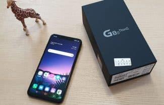 ג'ירפה בודקת: LG G8s ThinQ – פתיחת קופסה והצצה ראשונית