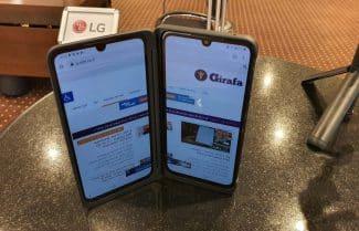 מושק בישראל: LG G8X ThinQ מכשיר בעל 2 מסכים