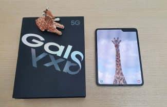 ג׳ירפה סוקרת: Samsung Galaxy Fold המכשיר שלא רצינו להפרד ממנו