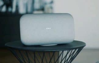 מקסימום סאונד: גוגל מכריזה על הרמקול Google Home Max; המחיר 399 דולרים