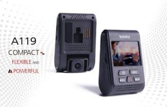 ירידת מחיר: מצלמת רכב VIOFO A119 V2 במחיר מעולה כולל קופון הנחה!