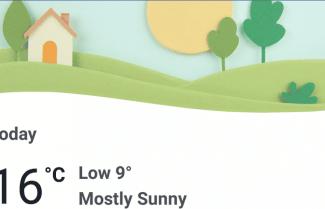 פייסבוק מוסיפה תחזית מזג אוויר לאפליקציה הסלולרית