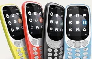 הוכרז: Nokia 3310 עם תמיכה בתדרי הדור השלישי