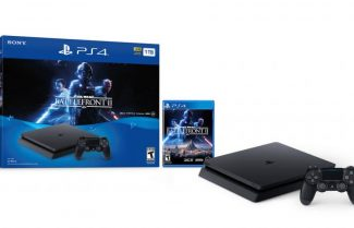 """אמזון ארה""""ב: קונסולת PS4 Slim 1TB עם משחק Battlefront II במחיר מיוחד"""