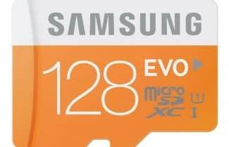 כרטיס זיכרון 128GB מבית סמסונג (הסדרה הכתומה) במחיר מבצע