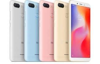 סמארטפון Xiaomi Redmi 6 במחיר מבצע כולל משלוח מהיר!