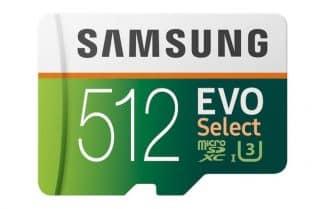 """אמזון ארה""""ב: כרטיס זיכרון 512 גיגה בייט של סמסונג – במחיר מעולה!"""