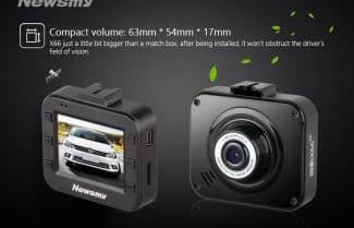 דיל לילה: מצלמת רכב קומפקטית 1080p במחיר מבצע 