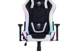כסא גיימינג Dragon Space הכולל תאורת לדים RGB צבעונית