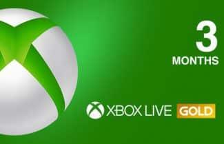 מנוי Xbox Live Gold ל-3 חודשים במחיר מבצע!