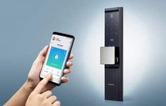 סמסונג מציגה מנעול חכם לדלת הבית עם יכולות IoT