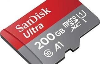 """אמזון ארה""""ב: כרטיס זיכרון SanDisk 200GB במחיר מבצע ליממה הקרובה!"""