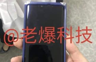 וואווי מייט 20 פרו נחשף בתמונות חדשות: מגרעת גדולה ומסך מעוקל