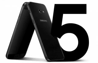 ג'ירפה פותחת קופסה: Samsung Galaxy A5 2017