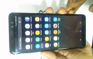 עם שתי מצלמות בחזית: הודלף סרטון המציג את ה-Galaxy A8+ 2018