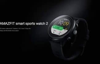 שעון הספורט Xiaomi Huami AMAZFIT 2 גירסה חדשה במחיר מבצע