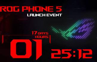 כעת זה רשמי: ASUS ROG Phone 5 יוכרז ב- 10 למארס