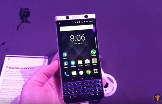 ברצלונה 2017: צפו בהתרשמות ראשונה ממכשיר ה-BlackBerry KEYone