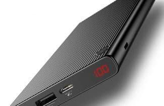 סוללה ניידת 20,000mAh עם צג דיגיטלי ותמיכה ב-QC 3.0 – במחיר מבצע!
