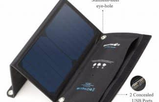 מטען סולארי לסמארטפון מבית BlitzWolf במחיר מעולה עם קופון הנחה!
