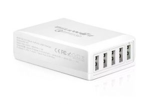 מטען חמישה שקעי USB מבית BlitzWolf במחיר מעולה כולל קופון!