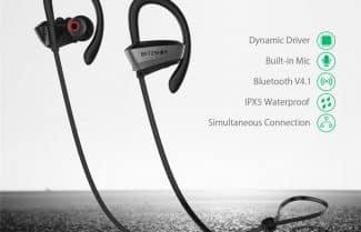 אוזניות ספורט אלחוטיות BlitzWolf – במחיר מבצע עם קופון הנחה!