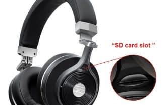 אוזניות Bluedio T3 Plus עם תמיכה בכרטיס זיכרון – עכשיו במחיר מיוחד