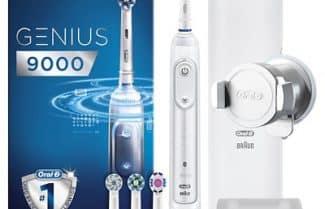אמזון איטליה: מברשת שיניים חשמלית Oral-B סדרה 9000 היוקרתית