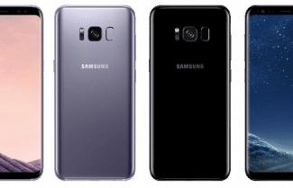 תמונה 'רשמית' חושפת את ה-Galaxy S8 בשני צבעים שונים
